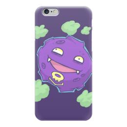 "Чехол для iPhone 6 ""Коффинг"" - нинтендо, nintendo, pokemon go, покемон го, koffing"