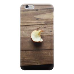 """Чехол для iPhone 6 """"Яблочко"""" - дерево, яблоко, надкусано"""