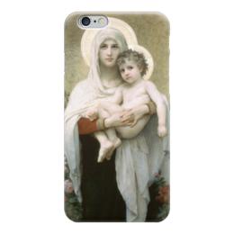 """Чехол для iPhone 6 """"Мадонна с розами (La Madone aux roses)"""" - картина, бугро"""