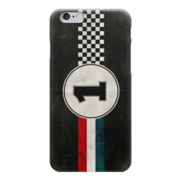 """Чехол для iPhone 6 """"Первое Место (Победитель)"""" - чемпион, race, гонка, финиш, finish"""