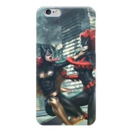 """Чехол для iPhone 6 глянцевый """"DC Комиксы"""" - девушки, эротика, женщина-кошка, харли квин, комиксы"""