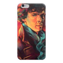 "Чехол для iPhone 6 ""Шерлок Холмс (Sherlock Holmes)"" - bbc, sherlock, шерлок, 221b, baker street"