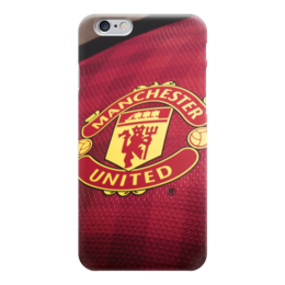 "Чехол для iPhone 6 ""Манчестер Юнайтед (МЮ)"" - манчестер юнайтед, мю"