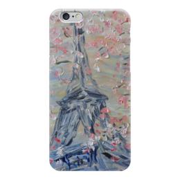"Чехол для iPhone 6 ""Фледоранж"" - весна, невеста, красота, париж, эйфелева башня"