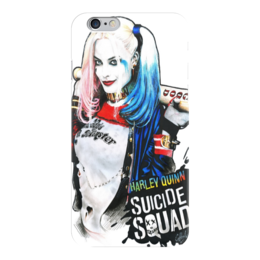 """Чехол для iPhone 6 глянцевый """"Harley Quinn"""" - харли квин harley quinn dc"""