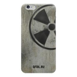 """Чехол для iPhone 6 глянцевый """"Логотип-трафарет"""" - сталкер, stalker, тёмная душа"""
