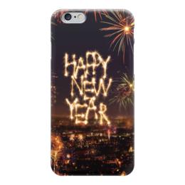 """Чехол для iPhone 6 """"Happy New Year"""" - happy new year, с новым годом"""
