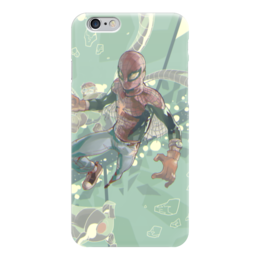 "Чехол для iPhone 6 ""Человек-паук"" - комиксы, spider-man, марвел, человек-паук, питер паркер"