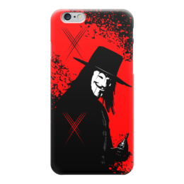 "Чехол для iPhone 6 ""VENDETTA!!!"" - граната, улыбка, анонимус, гай фокс, вендетта"