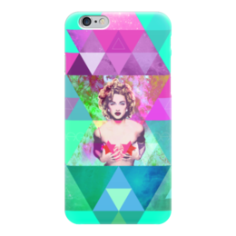 "Чехол для iPhone 6 """"HIPSTA SWAG"" collection: Madonna"" - swag, madonna, мадонна, свэг, геомерия"