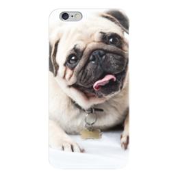 """Чехол для iPhone 6 """"Pugs """" - pug, мопс, pugs"""