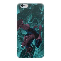 "Чехол для iPhone 6 ""Человек-паук (Spider-man)"" - комиксы, spider-man, марвел, человек-паук, питер паркер"