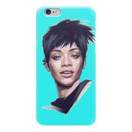 "Чехол для iPhone 6 глянцевый ""Rihanna"" - стиль, музыка, rihanna, рианна"