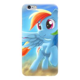 "Чехол для iPhone 6 ""Радуга Дэш"" - rainbow dash, my little pony, friendship is magic, радуга дэш"