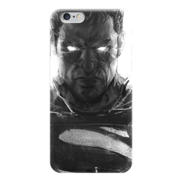 "Чехол для iPhone 6 ""Супермен (Superman)"" - комиксы, супермэн, dc comics, супс"