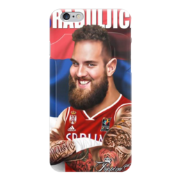 "Чехол для iPhone 6 ""Braduljica"" - nba, serbia, raduljica"