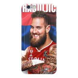 "Чехол для iPhone 6 ""Braduljica"" - nba, serbia, raduljica"
