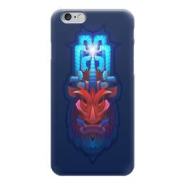 """Чехол для iPhone 6 """"Абстракция 3d"""" - буйвол"""