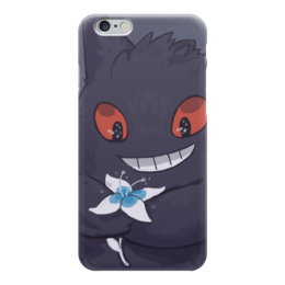 "Чехол для iPhone 6 ""Генгар"" - pokemon go, покемон го, гастли, gengar, хонтер"