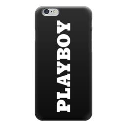 """Чехол для iPhone 6 глянцевый """"Playboy"""" - playboy, чехол для iphone, iphone6, плэйбой, айфон6"""