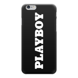 "Чехол для iPhone 6 ""Playboy"" - playboy, чехол для iphone, iphone6, плэйбой, айфон6"