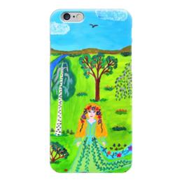 """Чехол для iPhone 6 """"Мир волшебства"""" - ручная работа, детский рисунок, от детей, детская работа"""