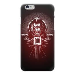 """Чехол для iPhone 6 глянцевый """"Rage Monkey"""" - monkey, обезьяна, горилла, арт, дизайн"""