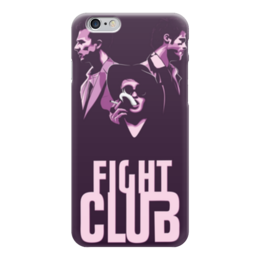 "Чехол для iPhone 6 ""Бойцовский Клуб (Fight Club)"" - бойцовский клуб, fight club"