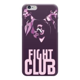 "Чехол для iPhone 6 глянцевый ""Бойцовский Клуб (Fight Club)"" - бойцовский клуб, fight club"