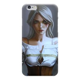 """Чехол для iPhone 6 """"Девушка (Ведьмак)"""" - witcher"""