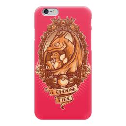 "Чехол для iPhone 6 ""Эволюция Чармандера"" - charmander, покемон го, чармелеон, чаризард, i choose fire"