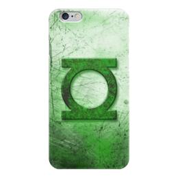 "Чехол для iPhone 6 ""Зелёный Фонарь (Green Lantern)"" - green lantern, зелёный фонарь"