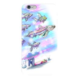 """Чехол для iPhone 6 """"Underwater"""" - подводный мир, рыбы, фэнтези, фантазия, волшебный мир"""