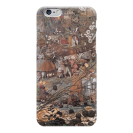 "Чехол для iPhone 6 ""Мастерский замах сказочного дровосека"" - картина, дадд"