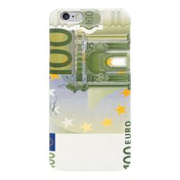 """Чехол для iPhone 6 """"100 EURO"""" - евро, euro, money, 100 евро, 100 euro"""