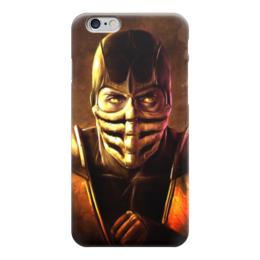 """Чехол для iPhone 6 """"Скорпион"""" - скорпион, mortal kombat, mk, cмертельная битва"""