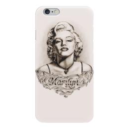 """Чехол для iPhone 6 """"Marylin Monroe"""" - ретро, кино, актриса, мэрилин монро, marilyn monroe"""