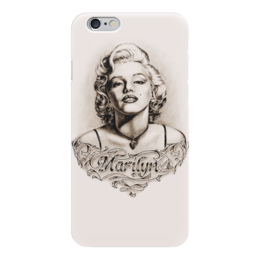"Чехол для iPhone 6 глянцевый ""Marylin Monroe"" - кино, актриса, ретро, мэрилин монро, marilyn monroe"