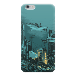 "Чехол для iPhone 6 ""Billy Talent"" - city, water, shark, billy talent, dead silence"