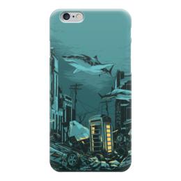 "Чехол для iPhone 6 ""Billy Talent"" - city, water, shark, billy talent, dead silence"
