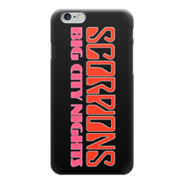 "Чехол для iPhone 6 ""Scorpions Band"" - heavy metal, hard rock, scorpions, скорпионс, хеви метал"