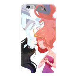 "Чехол для iPhone 6 ""Время приключений"" - принцесса, adventure time, время приключений, марселин, бубльгум"