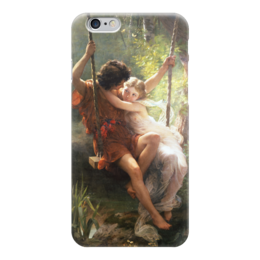 "Чехол для iPhone 6 ""Весна (Пьер Огюст Кот)"" - кот, картина"
