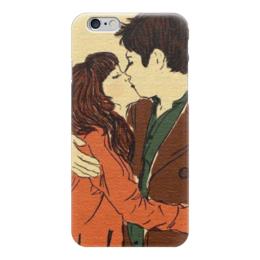 """Чехол для iPhone 6 """"Love / Любовь"""" - любовь, день святого валентина, 14 февраля, поцелуй, влюбленные"""