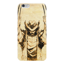 "Чехол для iPhone 6 глянцевый ""Росомаха"" - логан, комиксы, марвел, люди икс, wolverine"