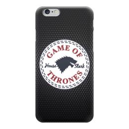 "Чехол для iPhone 6 ""Дом Старков (Игра Престолов)"" - игра престолов, старки, game of thrones, house starks"