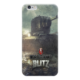 "Чехол для iPhone 6 глянцевый ""World of Tanks"" - 23 февраля, world of tanks, танки, wot"
