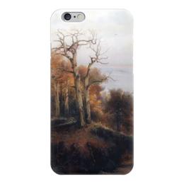 "Чехол для iPhone 6 ""Осенний лес. Кунцево. (Проклятое место)"" - картина, саврасов"