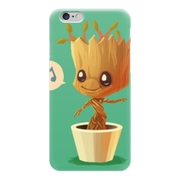 "Чехол для iPhone 6 ""Грут (Groot)"" - marvel, ракета, стражи галактики, грут, guardians of the galaxy"