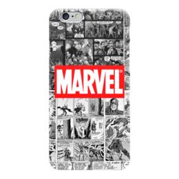 "Чехол для iPhone 6 ""Марвел Marvel Comics"" - marvel, марвел, капитан америка, marvel comics, комиксы марвел"
